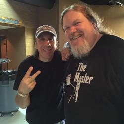Ben with Troy Luccketta(Tesla)