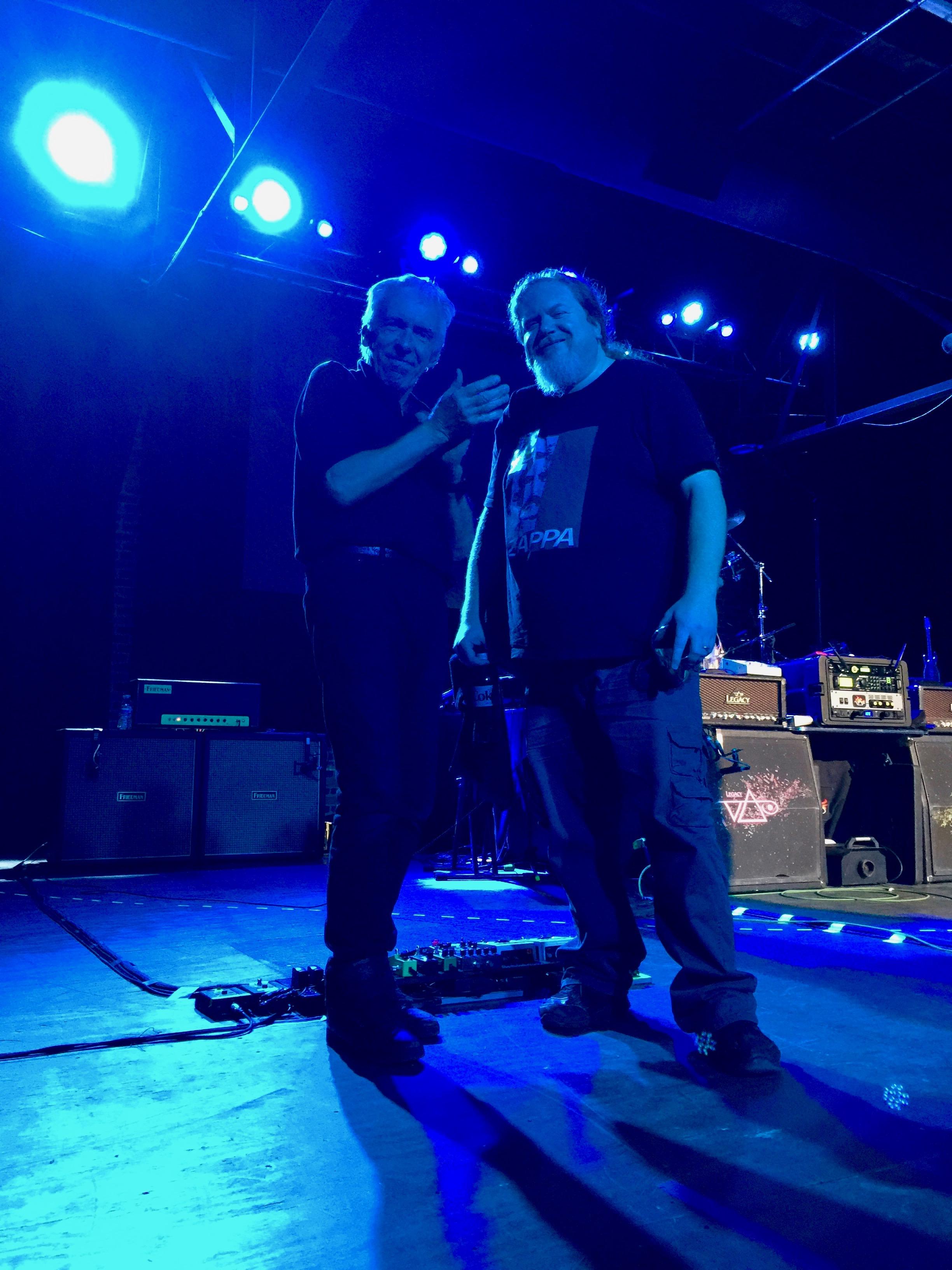 Ben with Thomas Nordegg