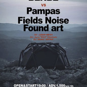 2020/2/21 KLUB COUNTER ACTION 25th ANNIVERSARY BENBE VS Pampas Fields Noise Found art