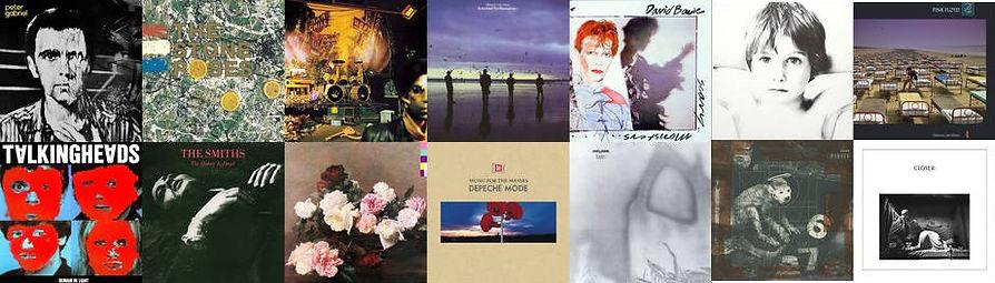 eighties music album covers