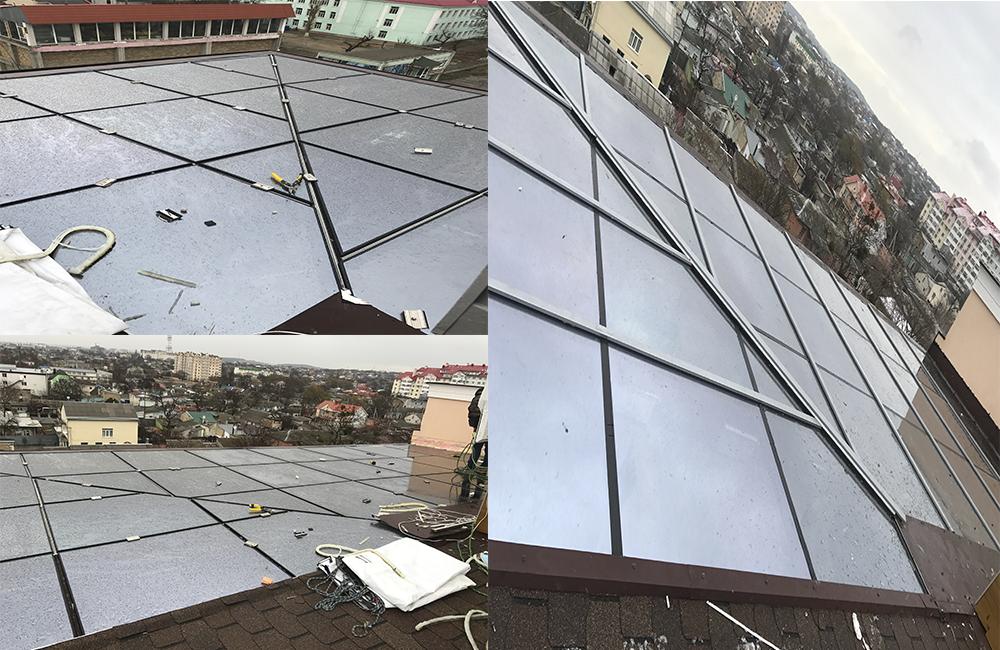 Стеклянная крыша - Пенсионного Фонда