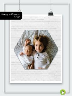 Hexagon Canvas - R790