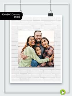 300x300 Canvas - R380