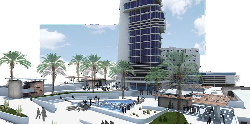 Plaza y torre Disa