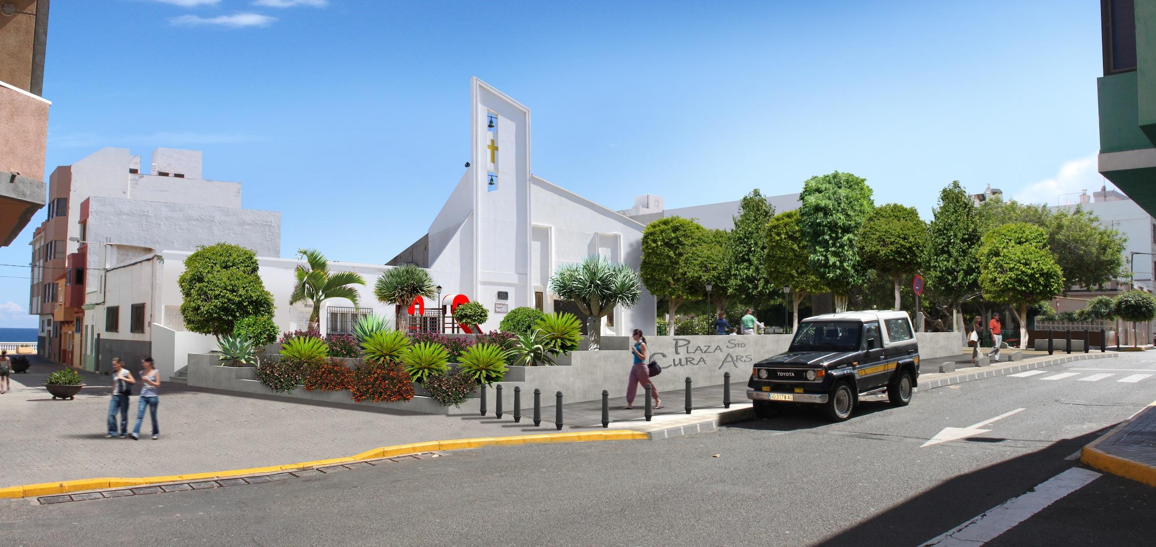 Plaza Santo Cura de Ars