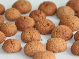 Pepernoten (zonder tarwe, lactosevrij en zonder geraffineerde suikers)