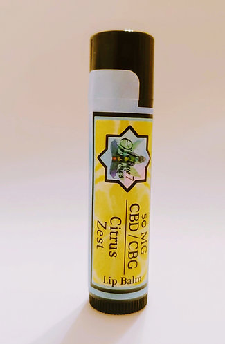 Soothing Lip Balm Citrus Zest 50mg