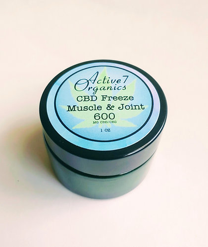 600 MG Hemp extract Muscle and joint Salve