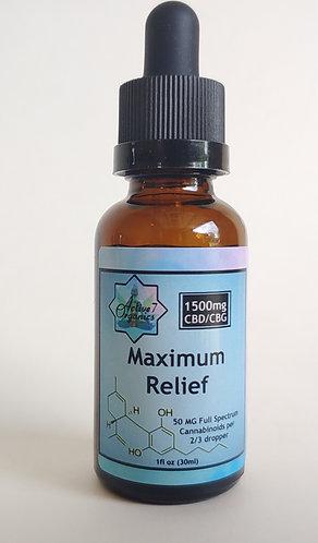 1500 MG (30ml) Maximum Relief