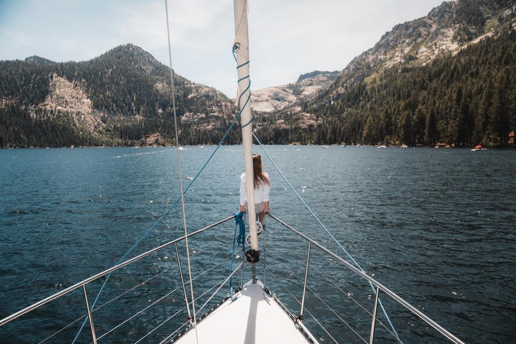 Sail Tahoe Blue