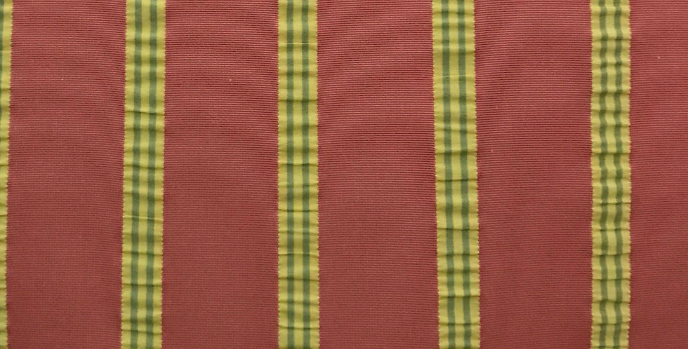 Pink - Yellow - Green - Seersucker Stripe