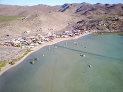 Aerial view of Posada