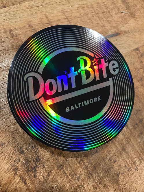 Don't Bite Baltimore record labels