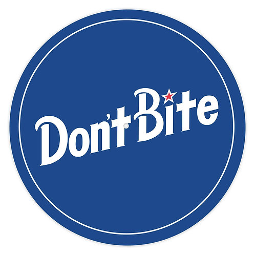 Don't Bite Slipmats (blue)