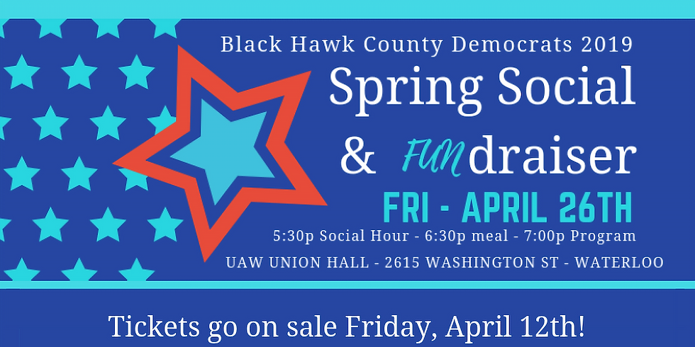 2019 Spring Social and Fundraiser