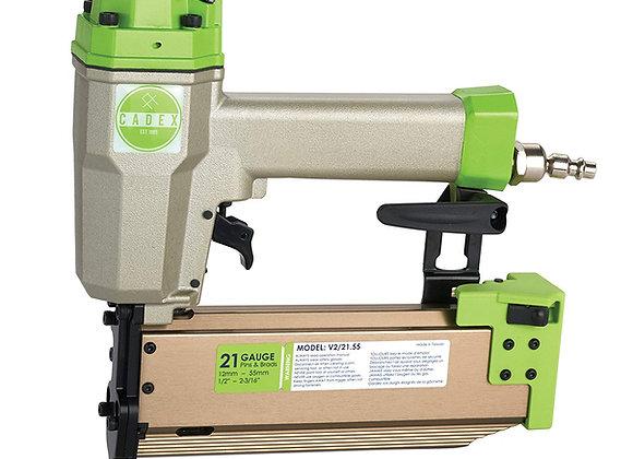 Cadex V2/21.55-SYS. 21 GA PIN & BRAD NAILER