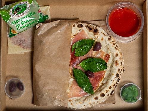 Pizza Napoletana Kit Brezglutenski (za 4 osebe)