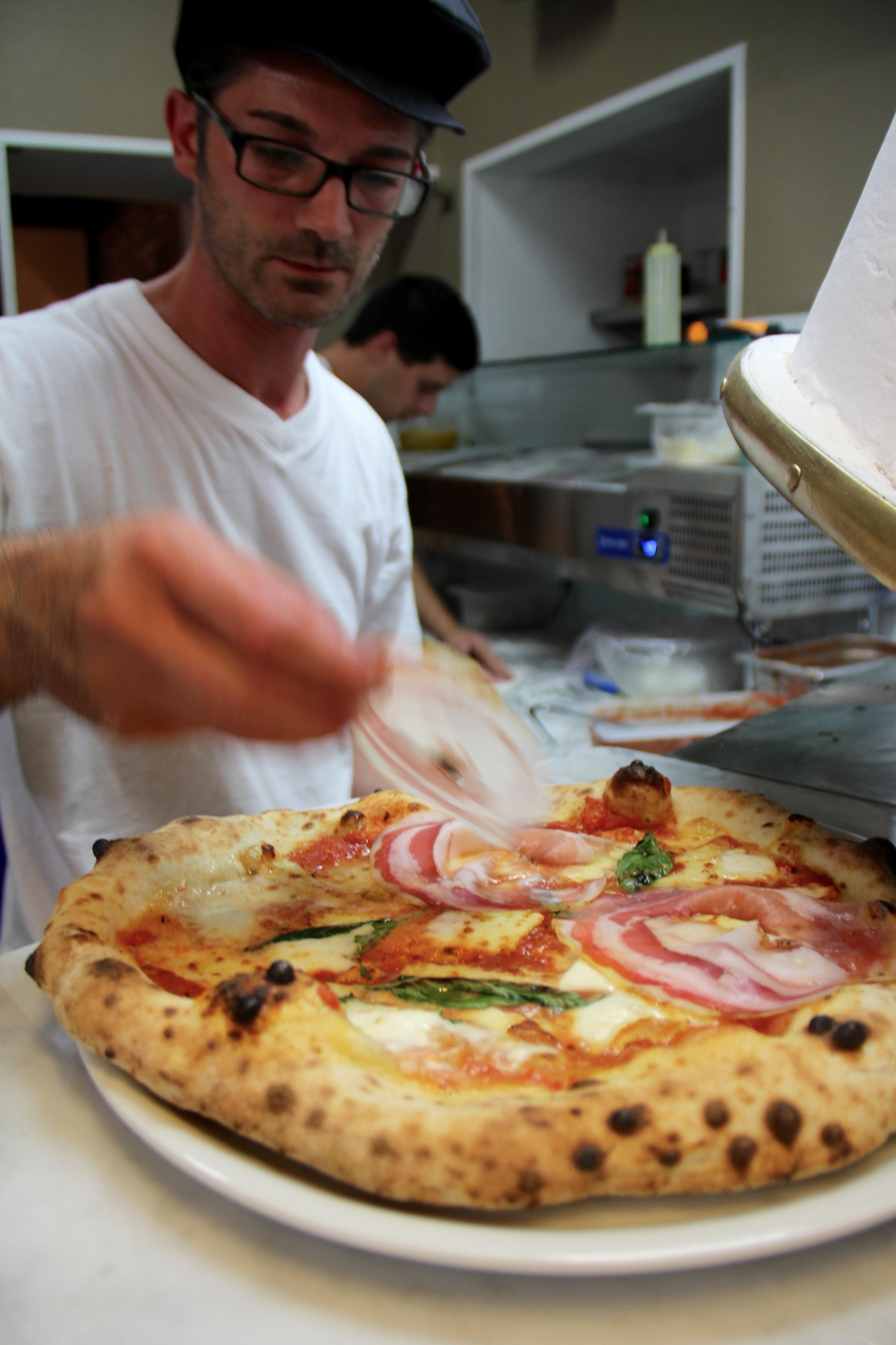Pizzaiolo Fabio Caruso