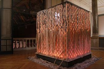Laveilleeaucandelou,2019, wax&steel-Courtesy of the artist5.JPG