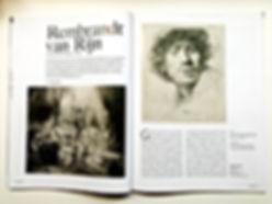 Rembrandt als etser