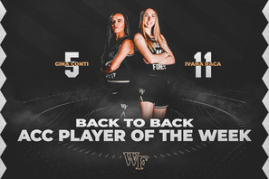 Back to BAck ACC Player's of the Week co