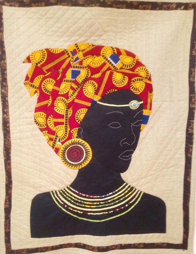 Quilt Dona Africana