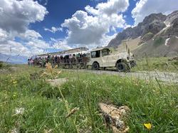 Tren valle de tena y paisaje