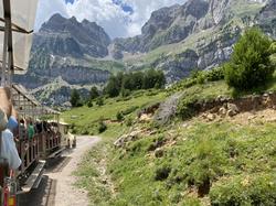 Peña Telera y tren valle de tena