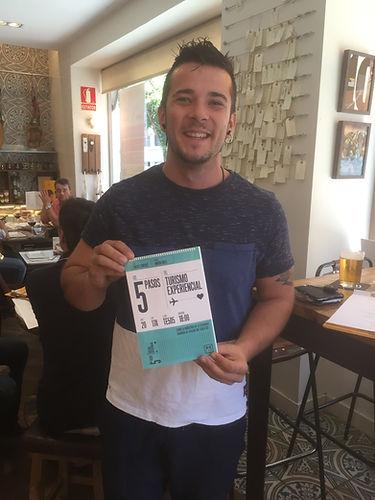 Carlos Maldonado, ganador de MasterChef 2015 con Los 5 pasos del Turismo Experiencial