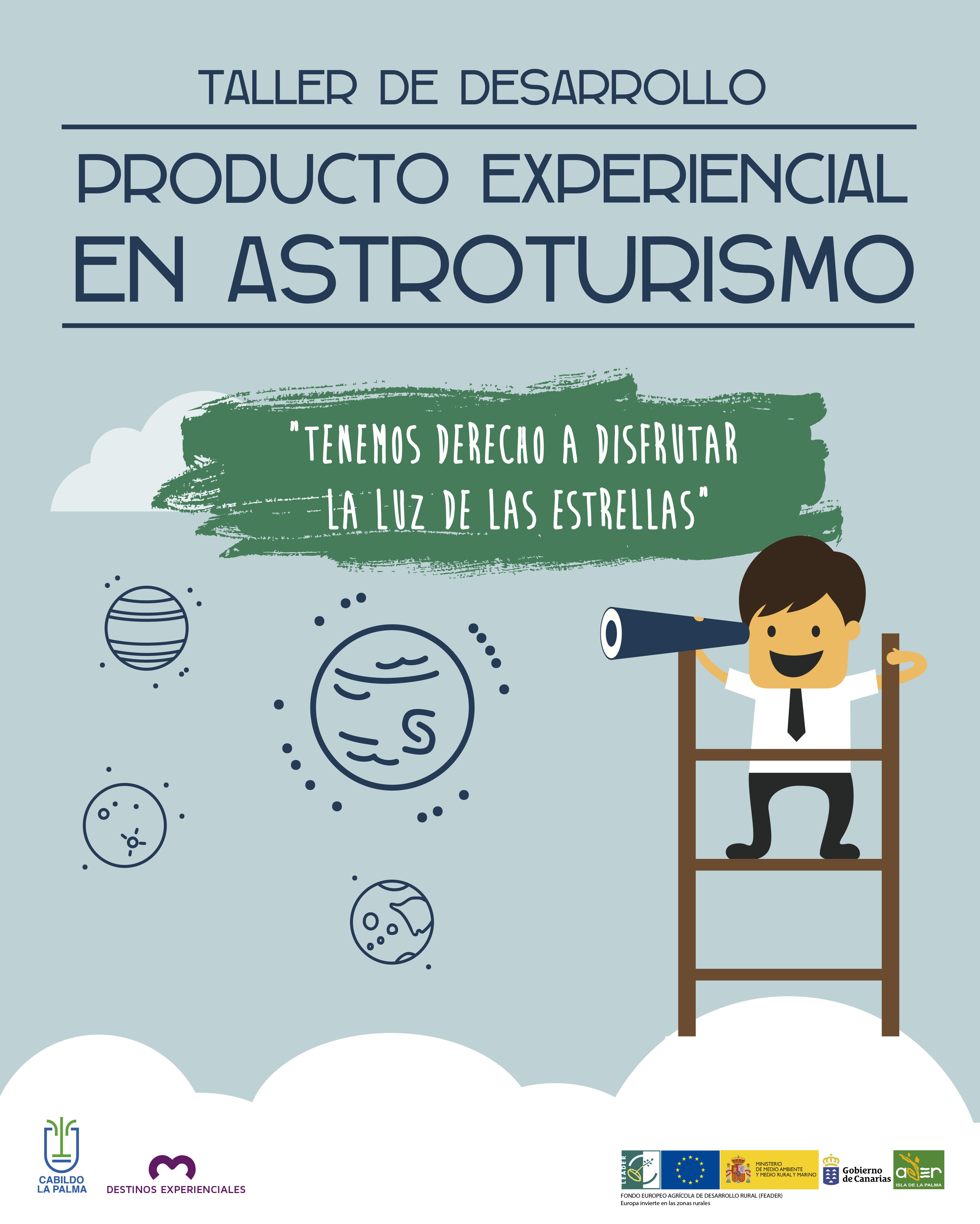 Cartel Astroturismo