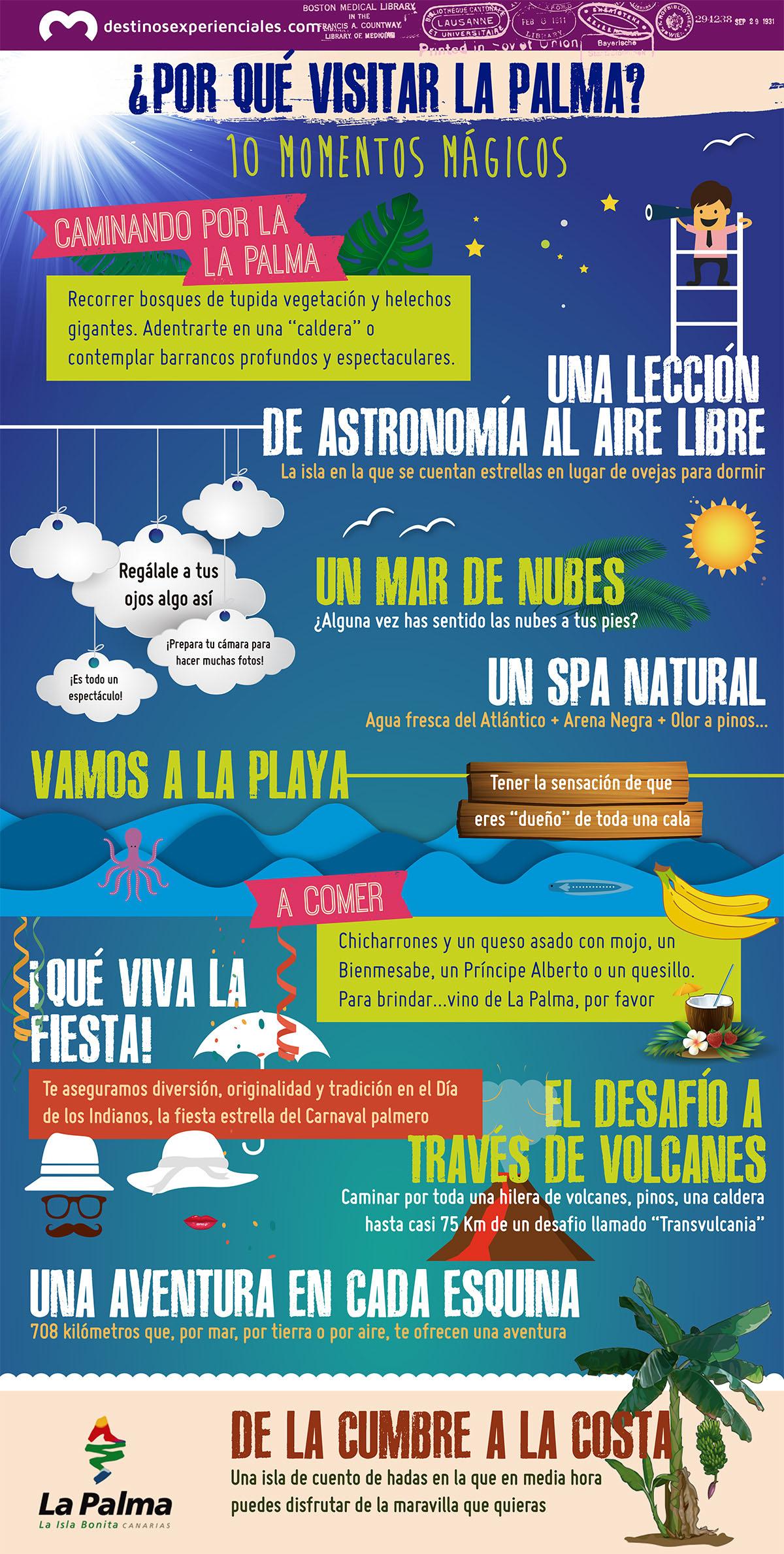 Infografía La Palma