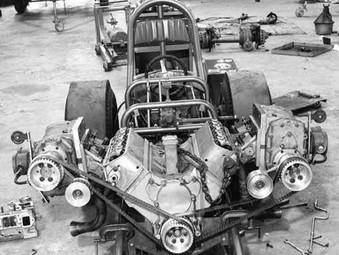 Mickey Thompson's Pontiac V8