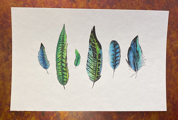 Feathers GB 001