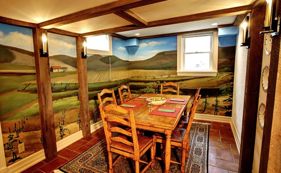 Snider-Metcalf Interiors - Dining Wine Cellar