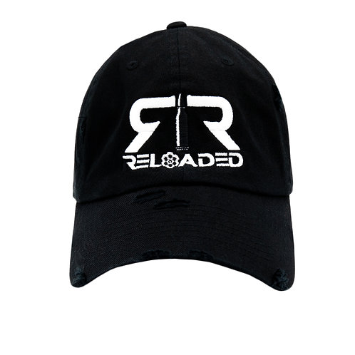 "DAD HAT ""BLACK / WHITE & BLACK LOGO"""