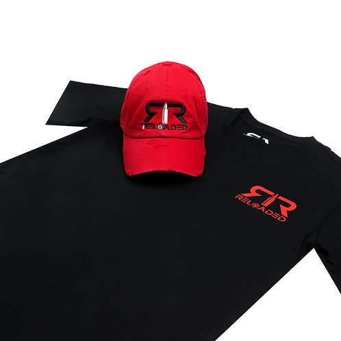 """HAT AND SHIRT COMBO """"FRIDAY THE 13TH"""" COLOR WAVE"""