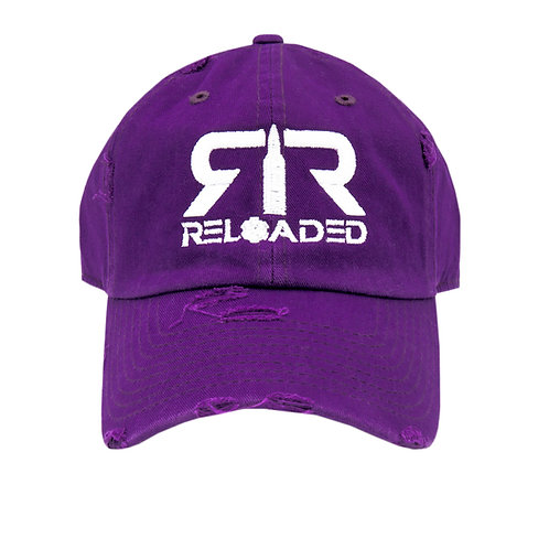 "DAD HAT ""PURPLE / WHITE LOGO"""