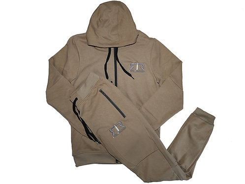"DESERT TECH SUIT ""GREY AND WHITE"" LOGO"
