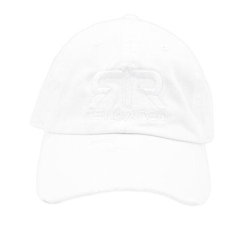 "DAD HAT ""WHITE / WHITE LOGO"""