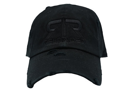 "DAD HAT ""BLACK/BLACK ON BLACK"""