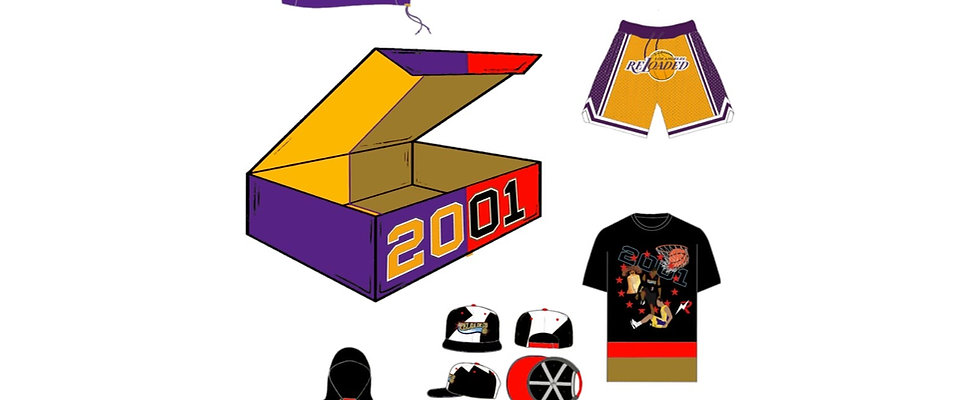 "PRE ORDER LIMITED EDITION 2001 RELOADED BOX ONLY ""3200"""