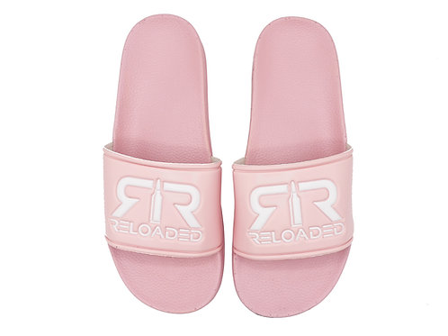 "PINK ""WHITE LOGO"" SLIDES"