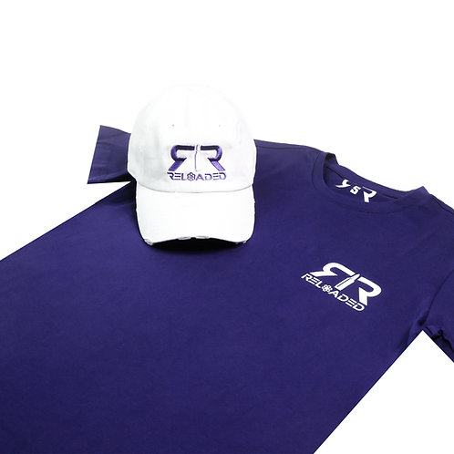 """HAT AND SHIRT COMBO """" PRINCE"""" COLOR WAVE"""
