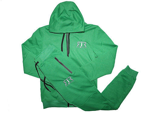 """KELLY GREEN TECH SUIT """"1980'S EAGLES COLOR WAY"""""""