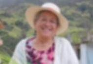 Luz Castro Samaniego es tejedora de Sombreros de Paja Toquilla (Panama Hats) y socia de MAKI FairTrade. Vive en Principal, Chordeleg, Azuay, Ecuador.