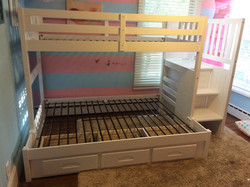 Bunk Bed Assembled