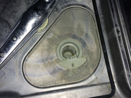 Dish Washer Filter Cleaning