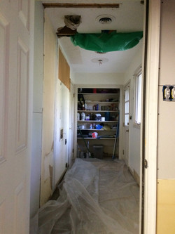 Entire Mud Room Before