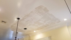 Ceiling Repaired From Box