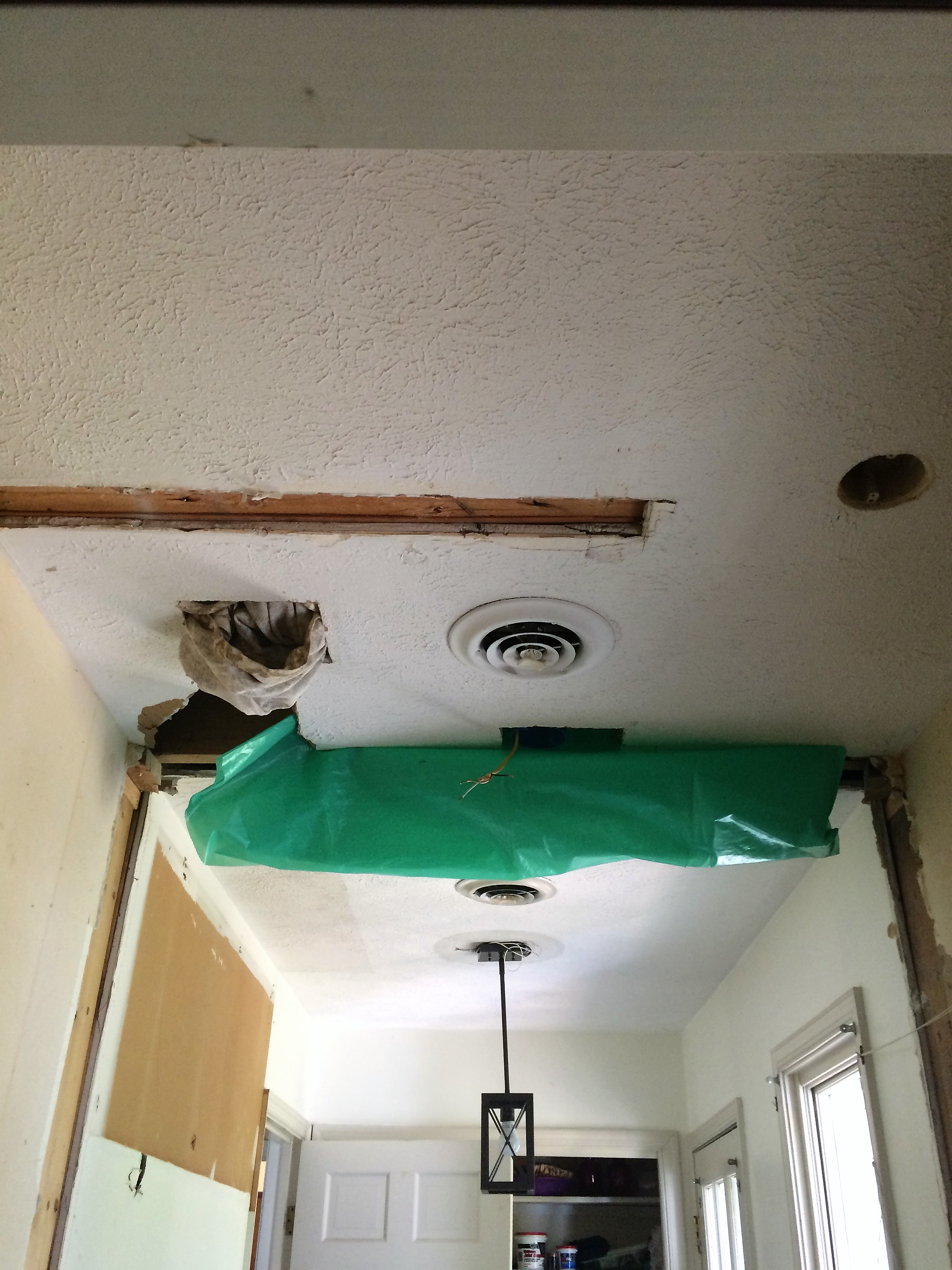 Entire Ceiling Before